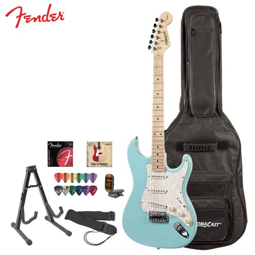 fender starcaster vintage daphne blue electric guitar. Black Bedroom Furniture Sets. Home Design Ideas